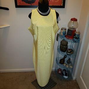 💛 NWT NY&CO Eva Mendes Sleeveless Dress